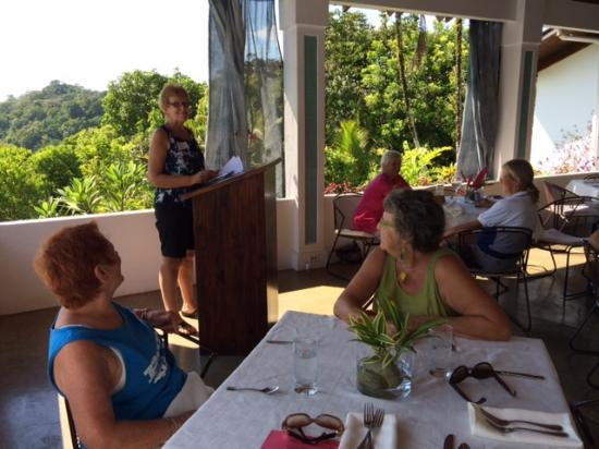 Ojochal, Costa Rica: Ladies Luncheon at Salsa