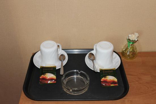 Rubin Hotel Complex: Чайные принадлежности есть в каждом номере