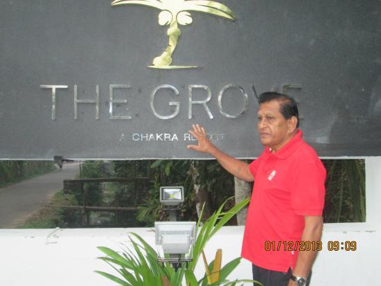 Bayan Lepas, Maleisië: Entrance to the Royal Grove