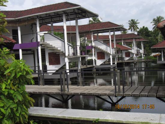 Nice Beautiful Rooms On The Stilt Picture Of Khuntai Restaurant Penang Bayan Lepas