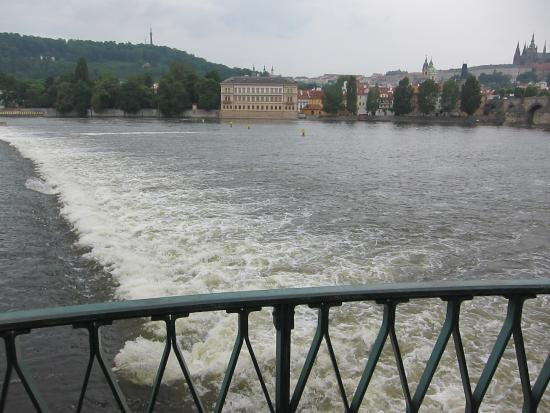 Prostejov, Czech Republic: Moldau River which inspired Smetana to compose his famous music Moldau-Ma Vlast.