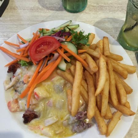 Fingal Bay, Australia: food