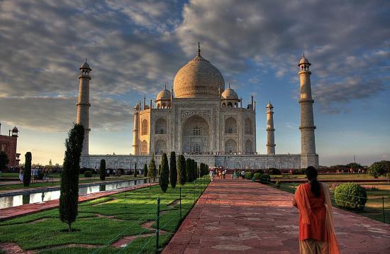 Taj Mahal: ¡No hay que perderse el atardecer!