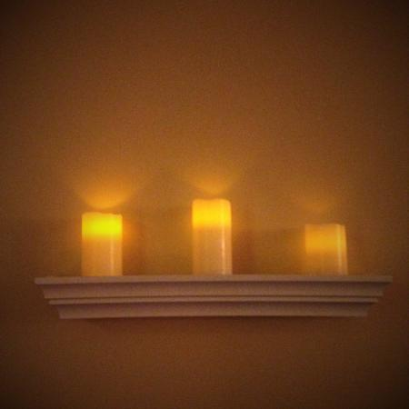 New Westminster, Canada: Massage by candlelight