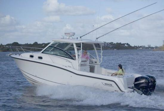White Surf Condominium: Boat fishing charters are available for rental nearby