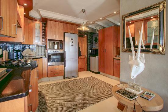 Wilderness, Zuid-Afrika: 1st floor Fully equipped kitchen