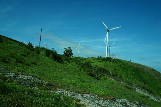 Ramakkalmedu, India: Wind Mill