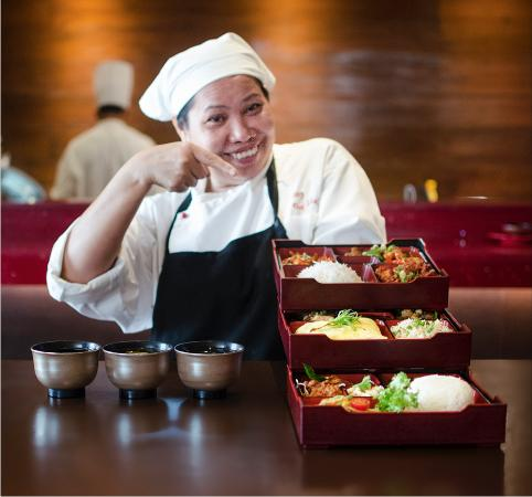 Red Zen: Chef Kueng's Bento Box