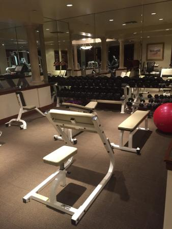 Recently renovated rooms and a cool gym picture of maui coast