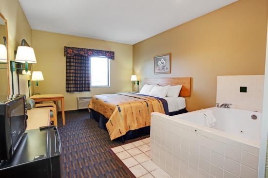 Paw Paw, ميتشجان: 1 King Bed Jacuzzi Room