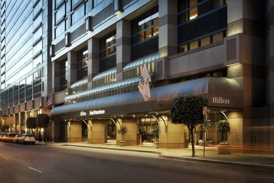 Hilton san francisco union square ca june 2016 hotel for Bar food union square san francisco