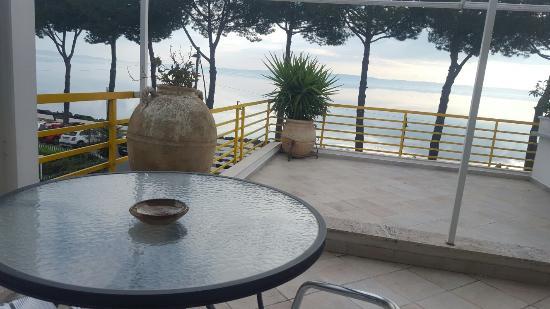 Trevignano Romano, Włochy: Panorama dalla camera con vista