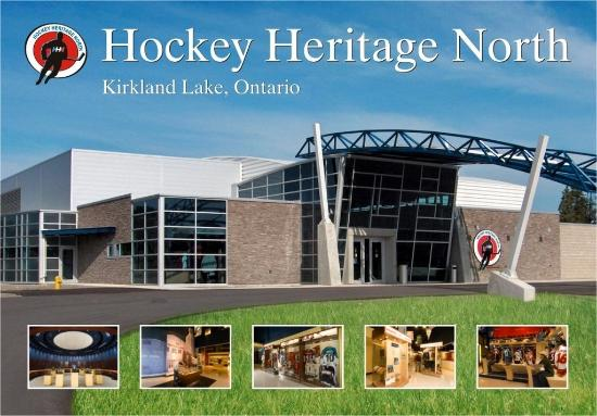 Kirkland Lake, Canadá: Meeting and Convention Centre Across the Street