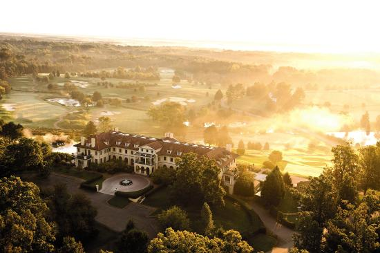 Keswick Hall: Aerial View