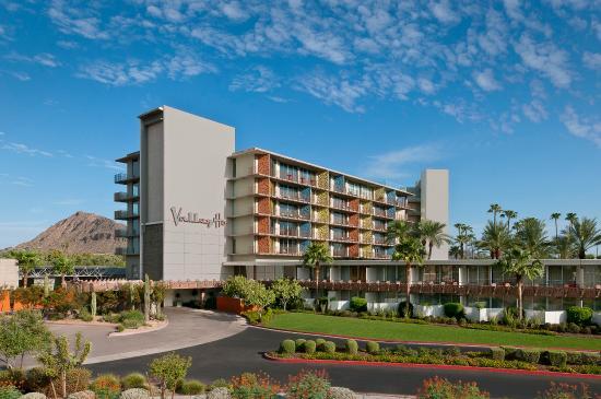 Hotel Valley Ho : Porte Cochere