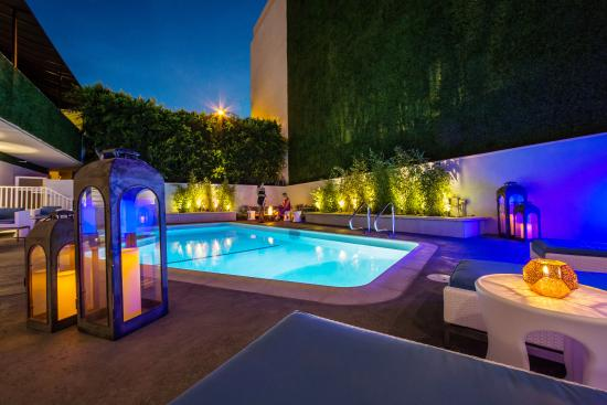 Mosaic Hotel Beverly Hills: Pool