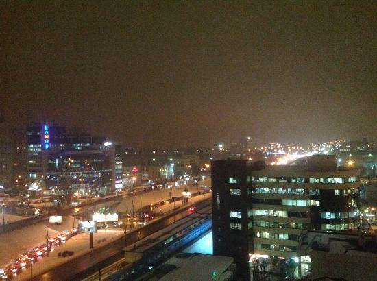Adria Hotel: Widok nocą