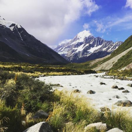 Aoraki Mount Cook National Park (Te Wahipounamu), Nova Zelândia: photo0.jpg