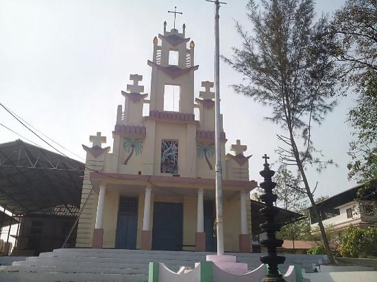 Kalady, Indien: St.Roche's Church, Manickamangalam