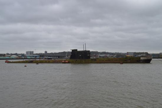 U-475 Black Widow Russian Submarine Picture