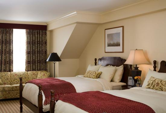 Woodstock Inn and Resort: South Wing Double Bed