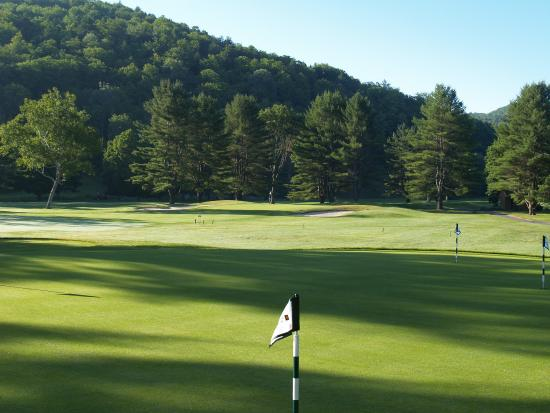 Woodstock Inn and Resort: Golf Course From Clubhouse