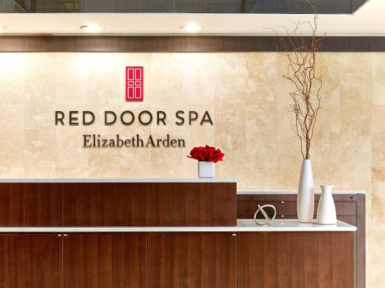 The Red Door Garden City Reception