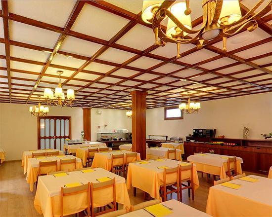 Sant Julia de Loria, Andorra: Hotel Sol-Park Restaurant