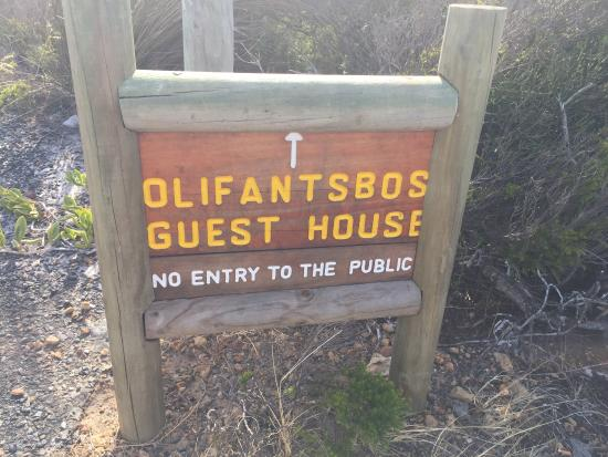 SANParks Olifantsbos Guest House