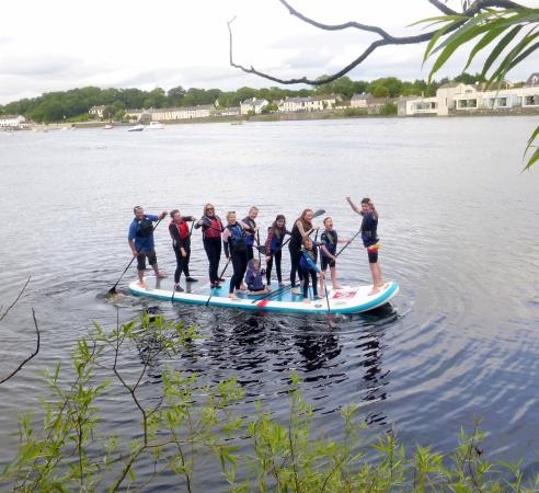Enniscrone, Irland: Monster SUP fun at the Quay Ballina