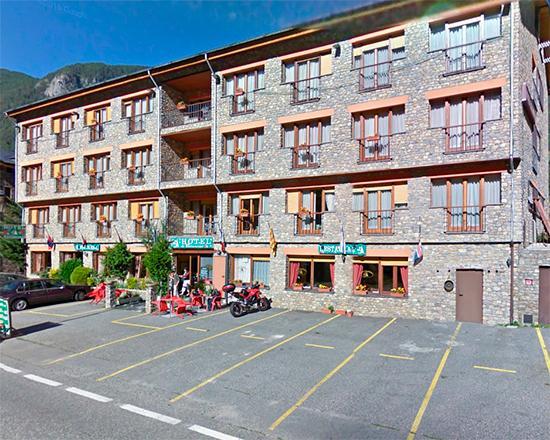 La Cortinada, Andorra: Hotel Cal Daina Restaurant