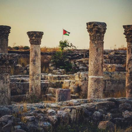Amã, Jordânia: ALQALAH MOUNTAIN _ AMMAN