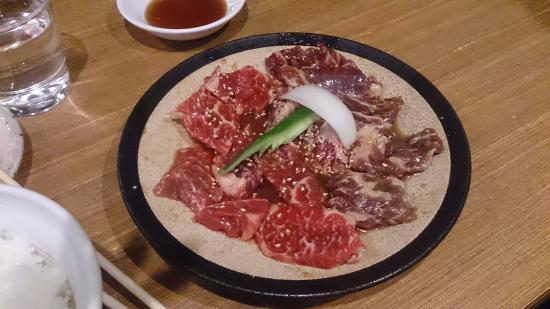 Charcoal fire Hormone pub Genkiya