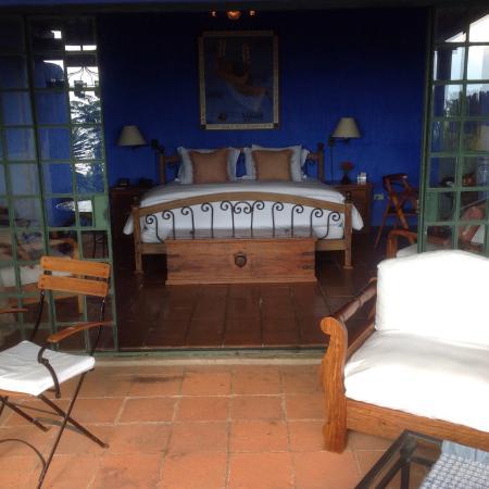 Casa Palopo: Our room opening onto Lake Atitlan