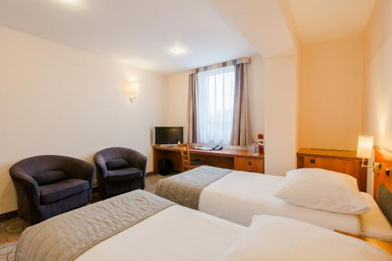 Glogow, Polen: Twin Room