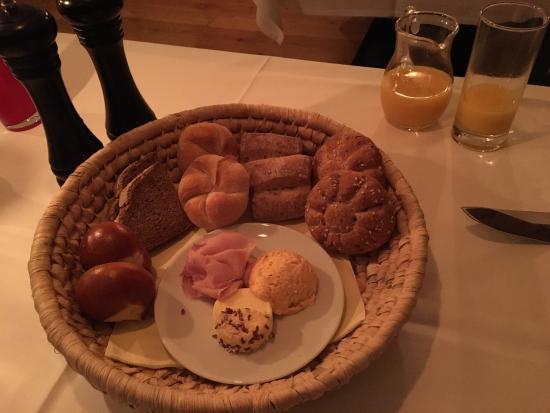 Hof bei Salzburg, Østerrike: Osteria at Hoel Jagdhof