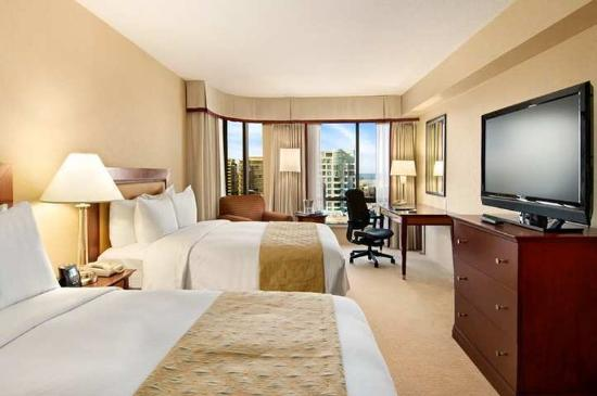 Hilton Vancouver Airport: Guest Room