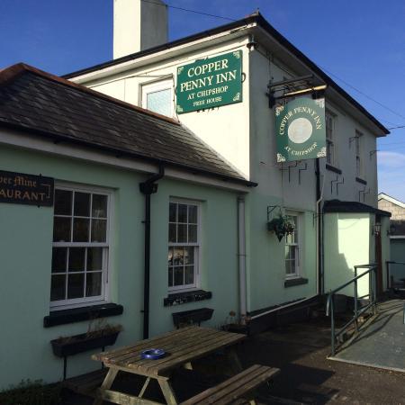 Copper Penny Inn, Chipshop, near Gulworthy and Tavistock