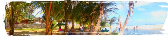 Paraiso, Dominican Republic: Acceso al Río y Playa de Los Patos