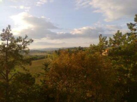 Farneta, อิตาลี: Vista dal balcone