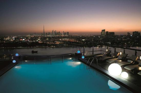 Hilton Dubai Creek hotel - Rooftop Pool