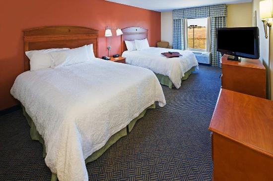 Hillsboro, TX: Guest Room Two Beds