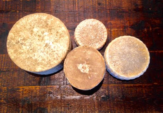 Concord, MA: Selection of local Raw New England Cheeses