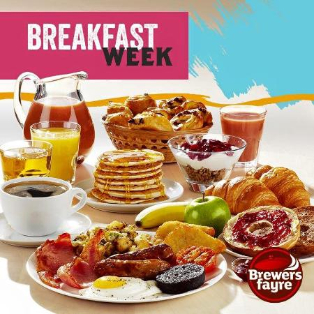 All you can eat Breakfast - Picture of Brewers Fayre Walsall ... Order Breakfast Walsall on