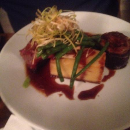 Great Rissington, UK: Really enjoyable evening with superb food!