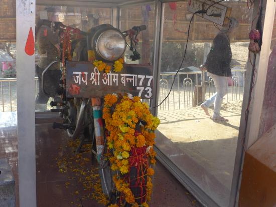 Om Banna: ENFIELD BULLET TEMPLE