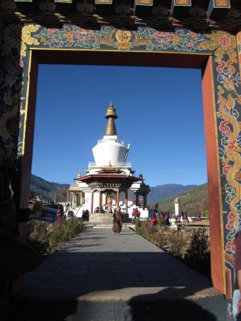Thimphu Chorten (Memorial Chorten) Photo