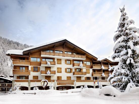 Hotel Au Coeur du Village: hiver 2