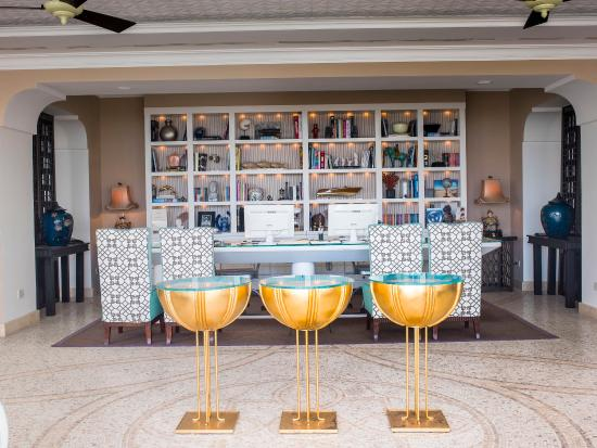 Capri Tiberio Palace: Reception