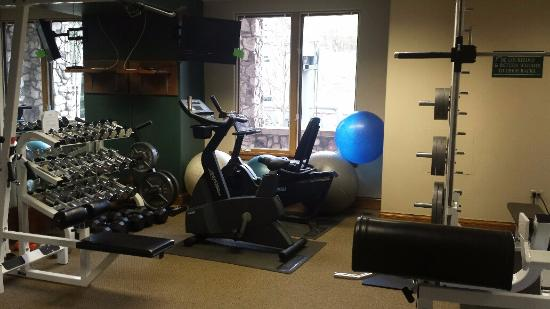 Elkhorn Lodge: Fitness Room